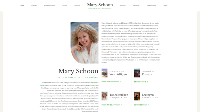Mary Schoon - After - Desktopweergave