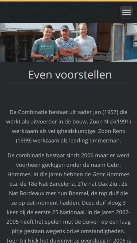 Comb Hommes - Before - Mobielweergave