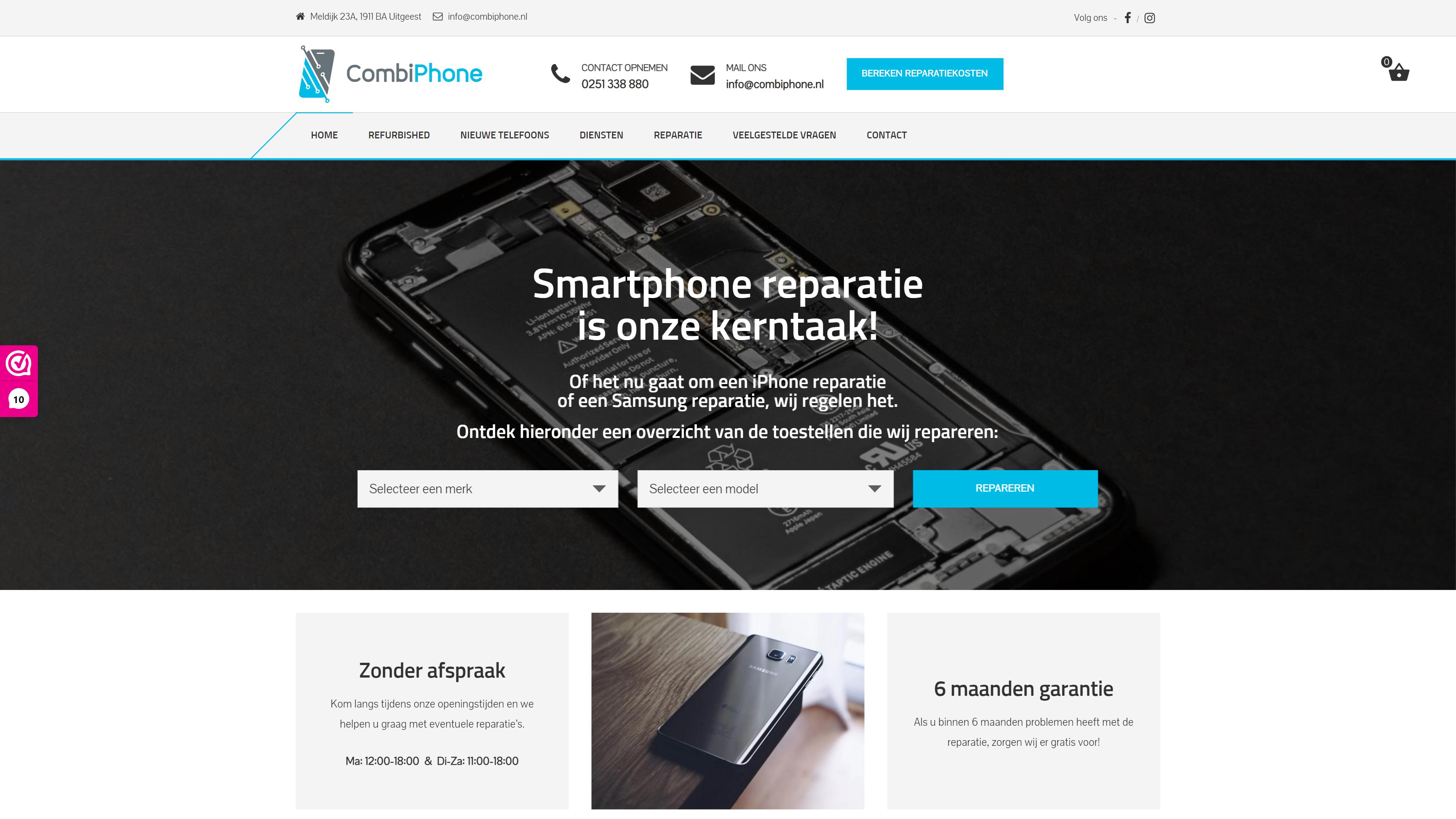 CombiPhone - WooCommerce webshop
