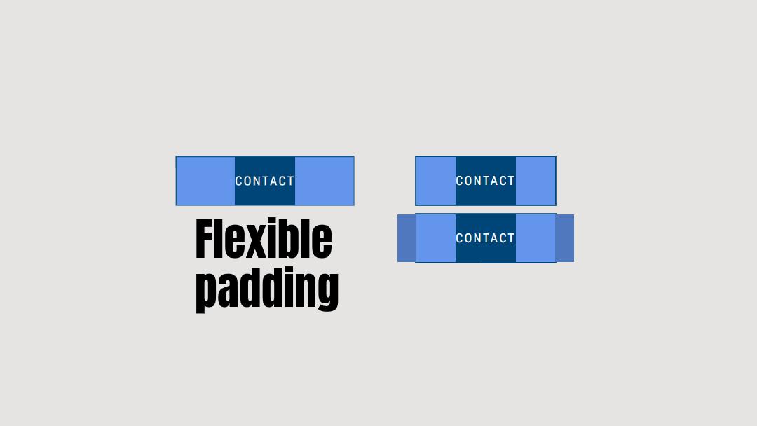 Flexible padding