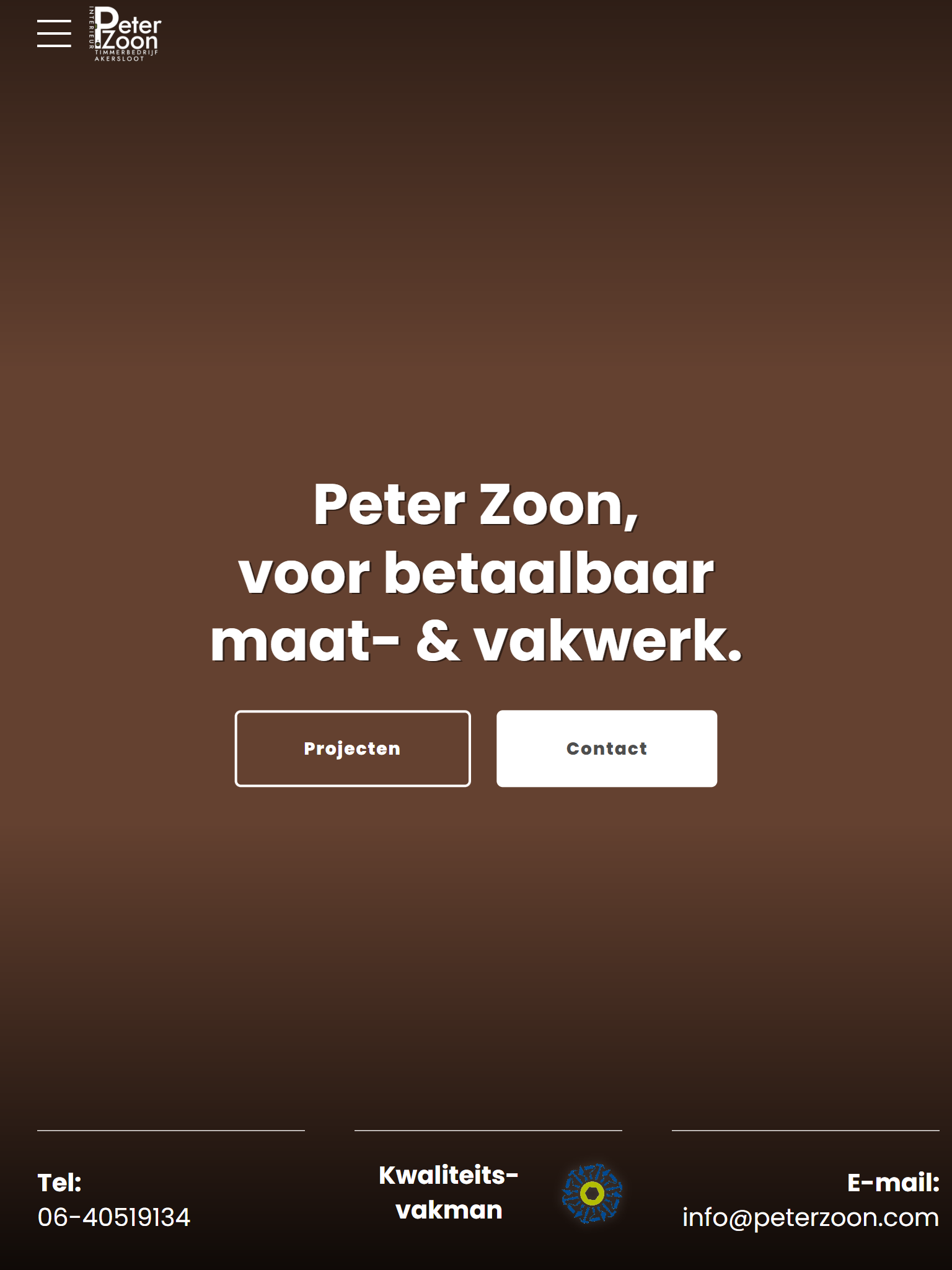 Peter Zoon - After - Tabletweergave