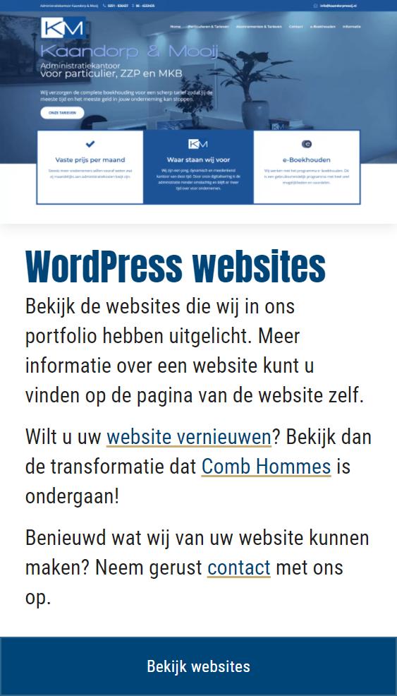 Afbeeldingen breed responsive webdesign