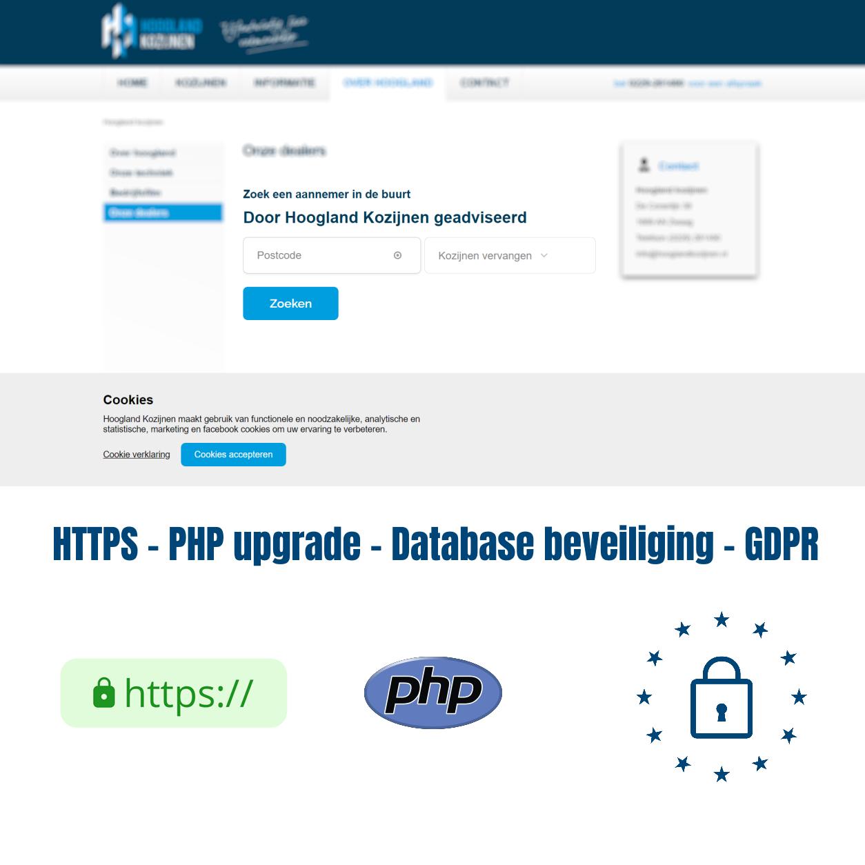 Maatwerk beveiliging door webdesign bureau Alkmaar