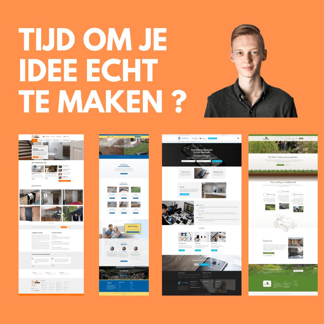 Gratis website design binnen 5 werkdagen
