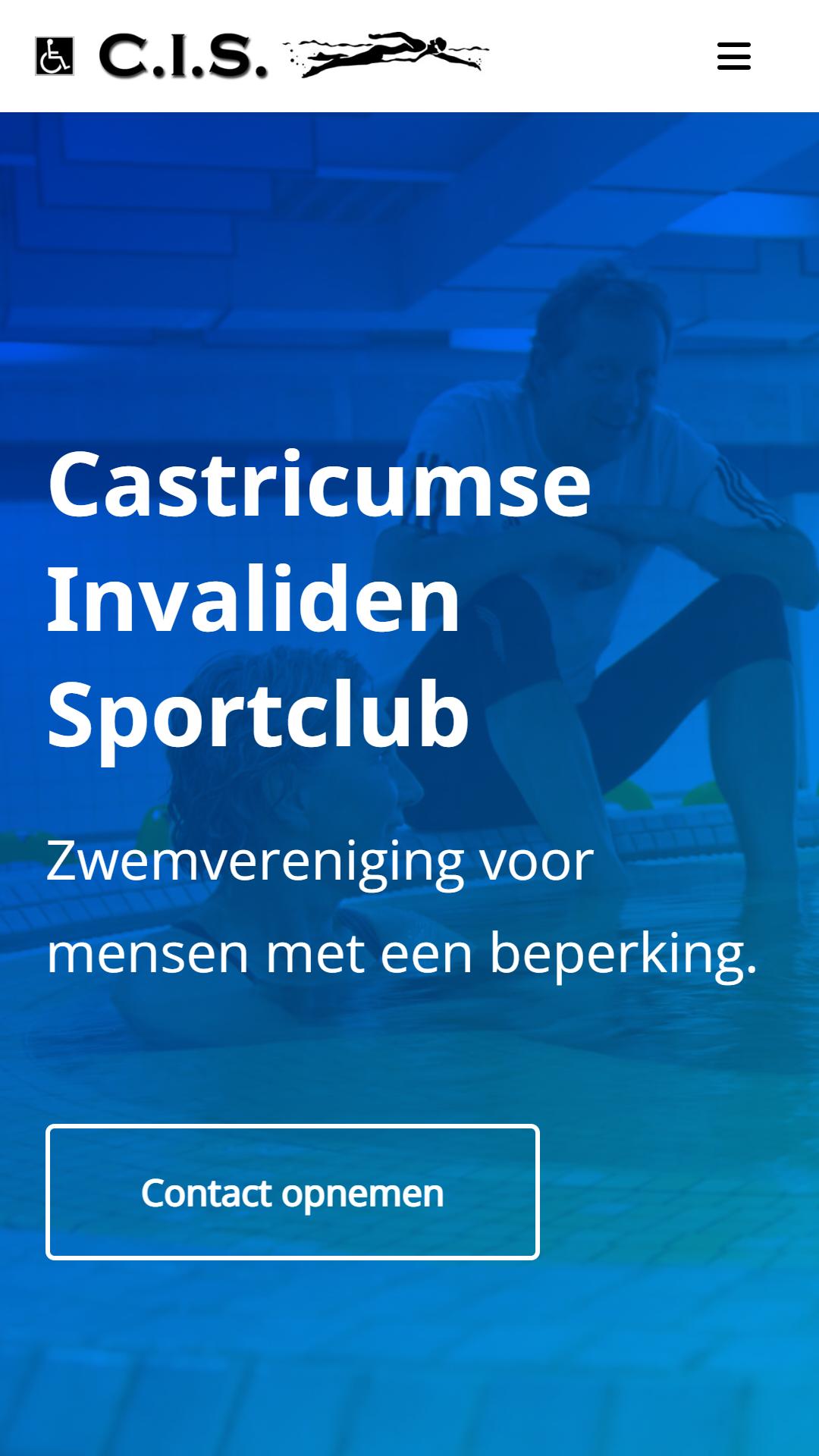 Zwemvereniging C.I.S. - After - Mobielweergave