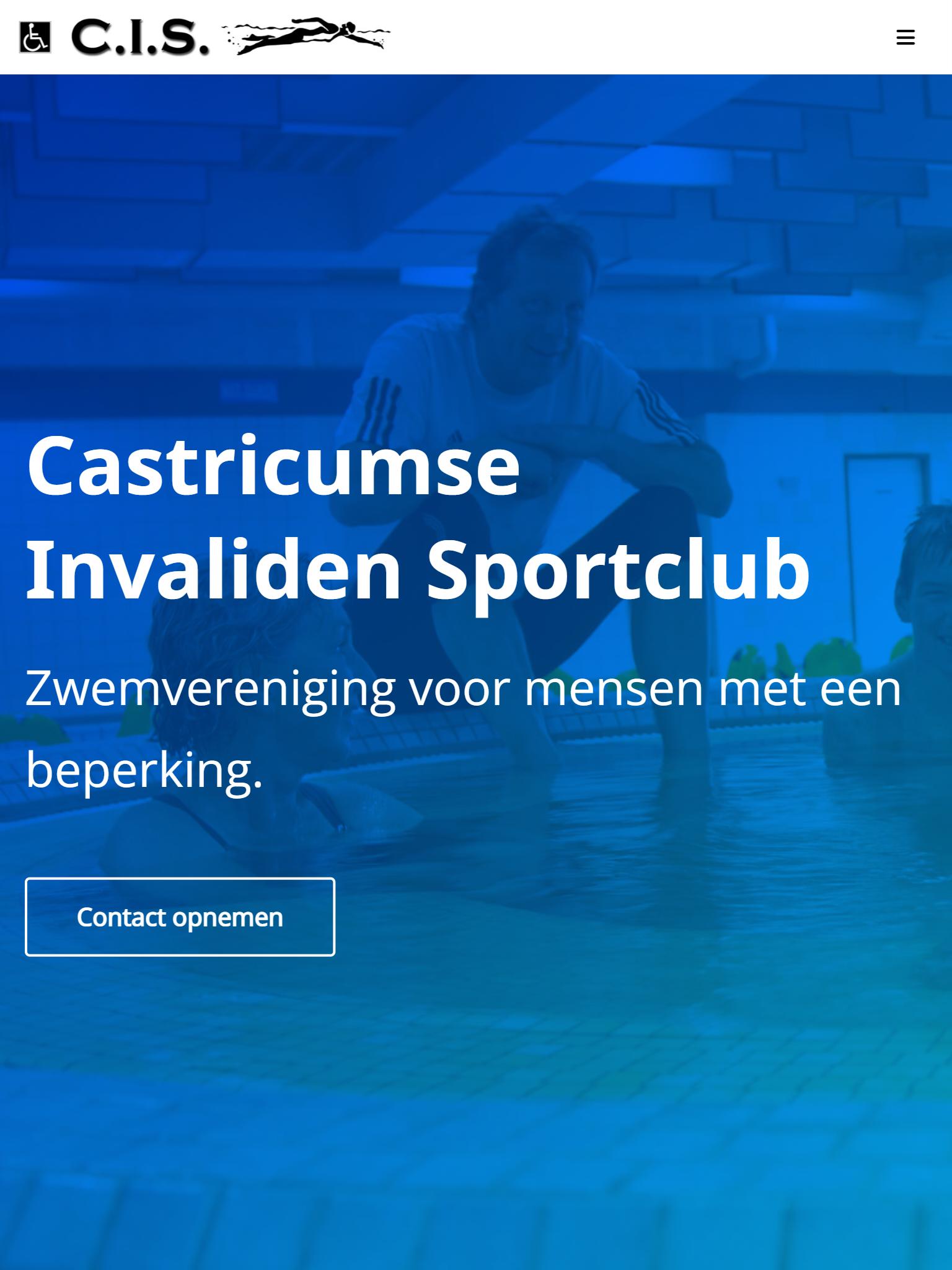 Zwemvereniging C.I.S. - After - Tabletweergave